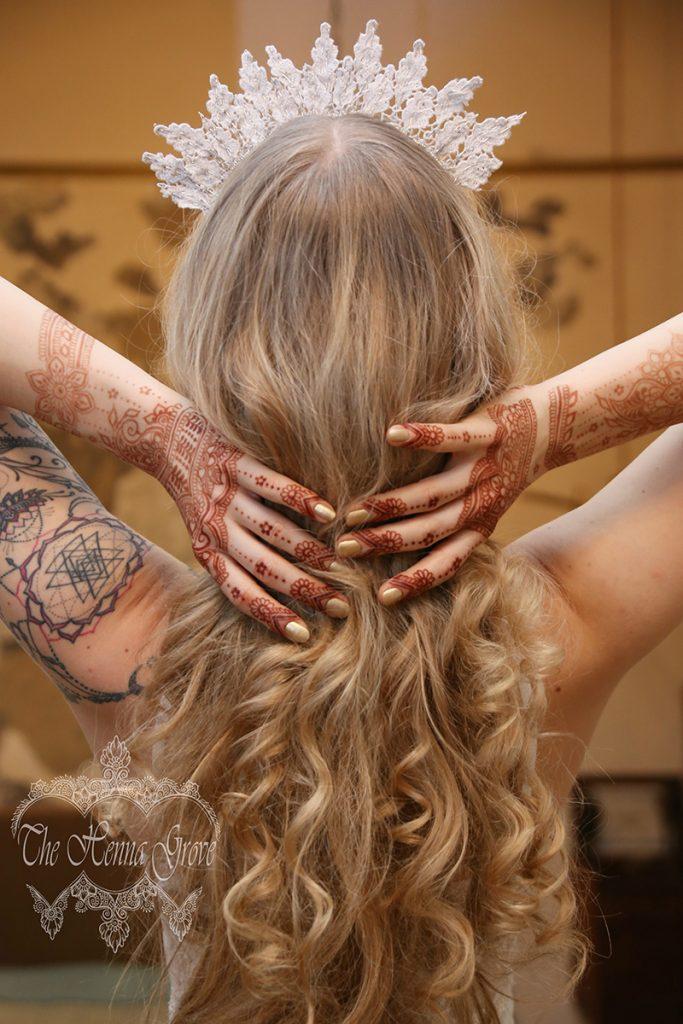 Henna stain