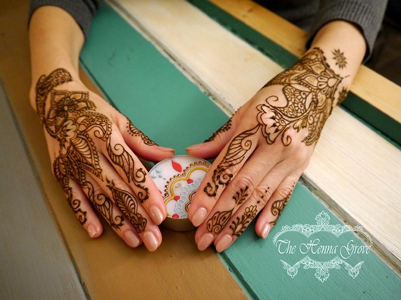 Divali henna