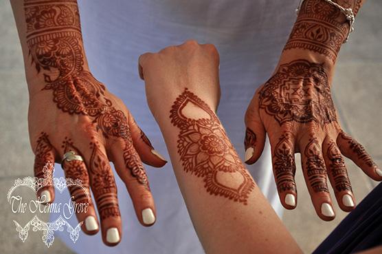 Barátnős henna