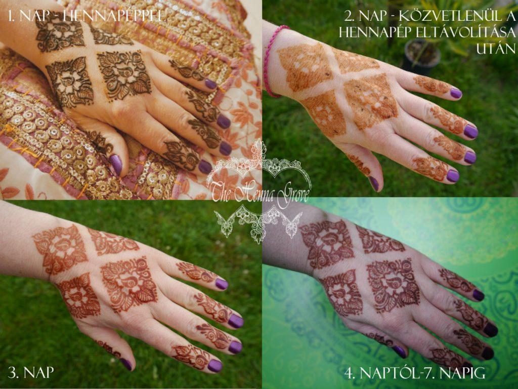 henna, ápolás, henna színe,